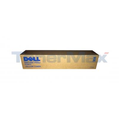 DELL 5100CN TONER CARTRIDGE YELLOW 8K